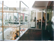 ALUMINIUM / GLASS PARTITION